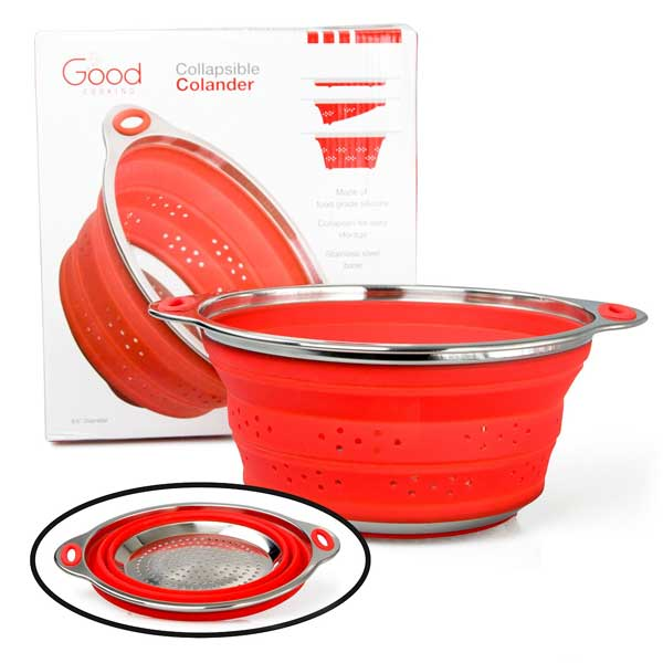 Good Cooking Collapsible Silicone Colander