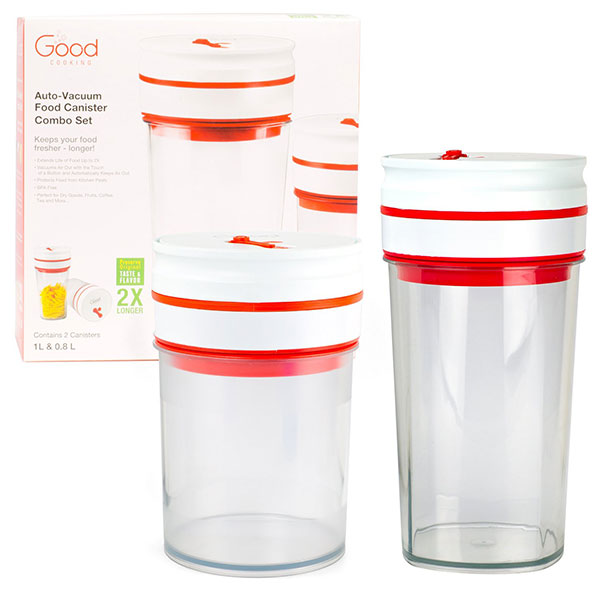 Good Cooking Vacuum Container Combo Pack