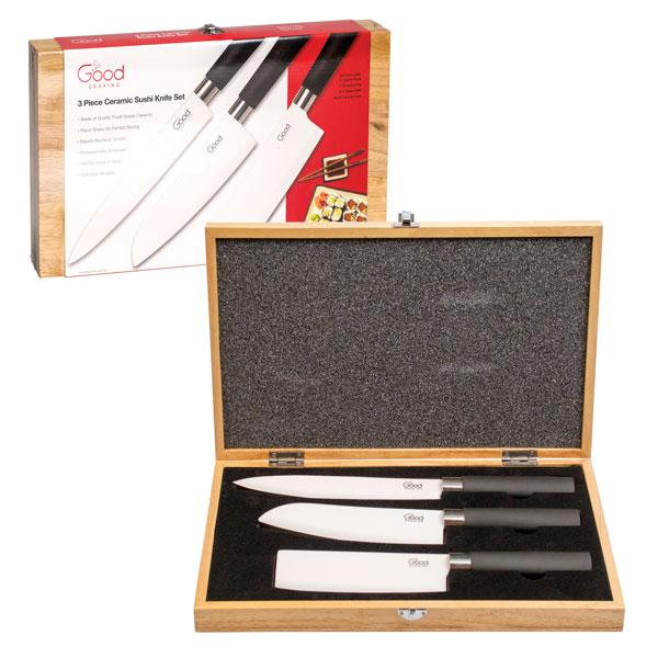 Good Cooking Ceramic Sushi Knife Set